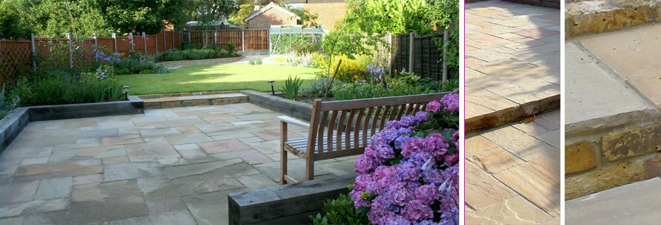 Long London Garden