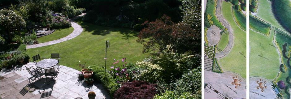 Plants woman's garden
